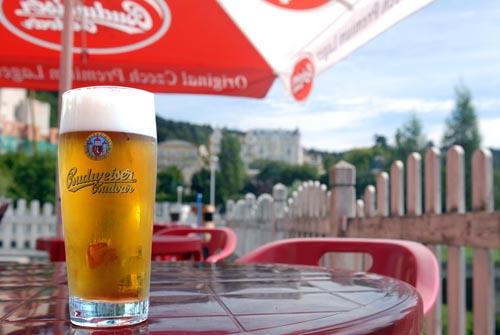 Het originele Tsjechische Budweiser Bier, lijkt niet op het Amerikaanse Budweisser!