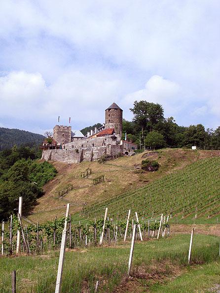 Slapen in een echt kasteel!