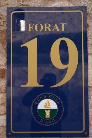 Forat 19 (Hole 19) een prima plaats voor een koud drankje of lekkere hap na 18 holes genieten
