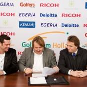 Golf Team Holland en Ricoh verlengen middels een nieuw contract de succesvolle samenwerking