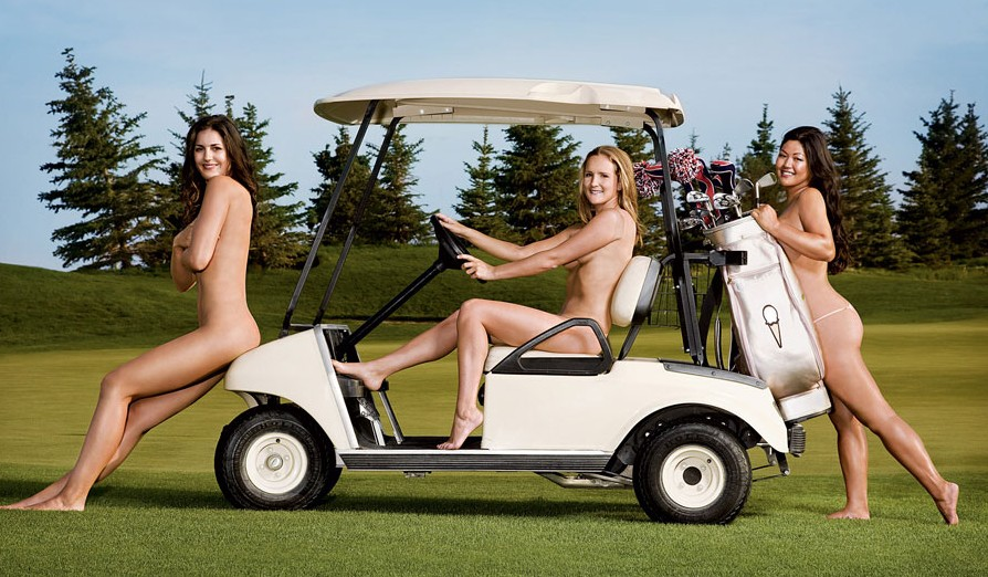 Kom ik nou nooit tegen op de golfbaan!