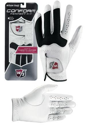 Het effect van de Power Balance armband nu ook in Wilson golfhandschoen Conform Glove