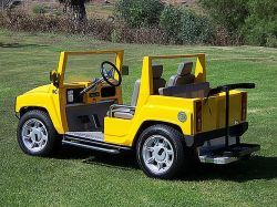 Hummer-golfcart