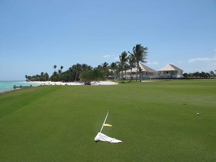 Tropisch Golfresort