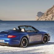 De nieuwe Porsche Carrera GTS heeft een topsnelheid van 306 km per uur