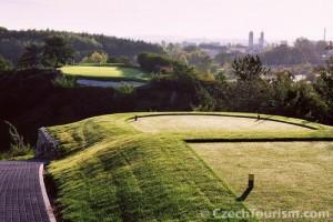 In Praag vind je een lastig 9-holes golfbaan