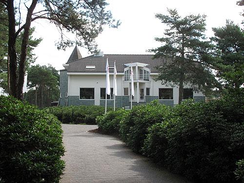 Het prachtige clubhuis