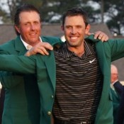 Schwartzel gets the green jacket