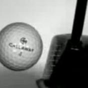 golfbal-impact