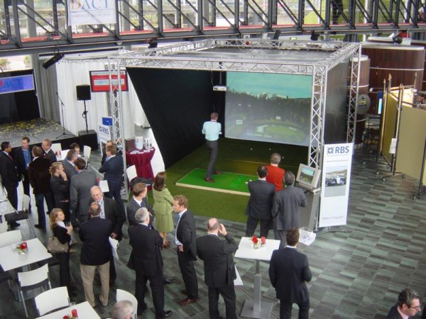 Golf simulator huren