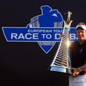 Luke Donald winnaar Race to Dubai 2011. Foto: ©Getty Images