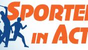 sporters in actie